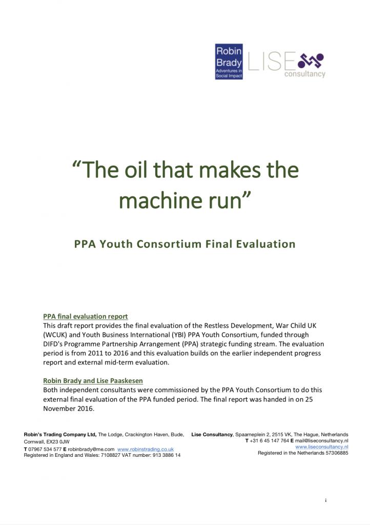 The oil that makes the machine run
