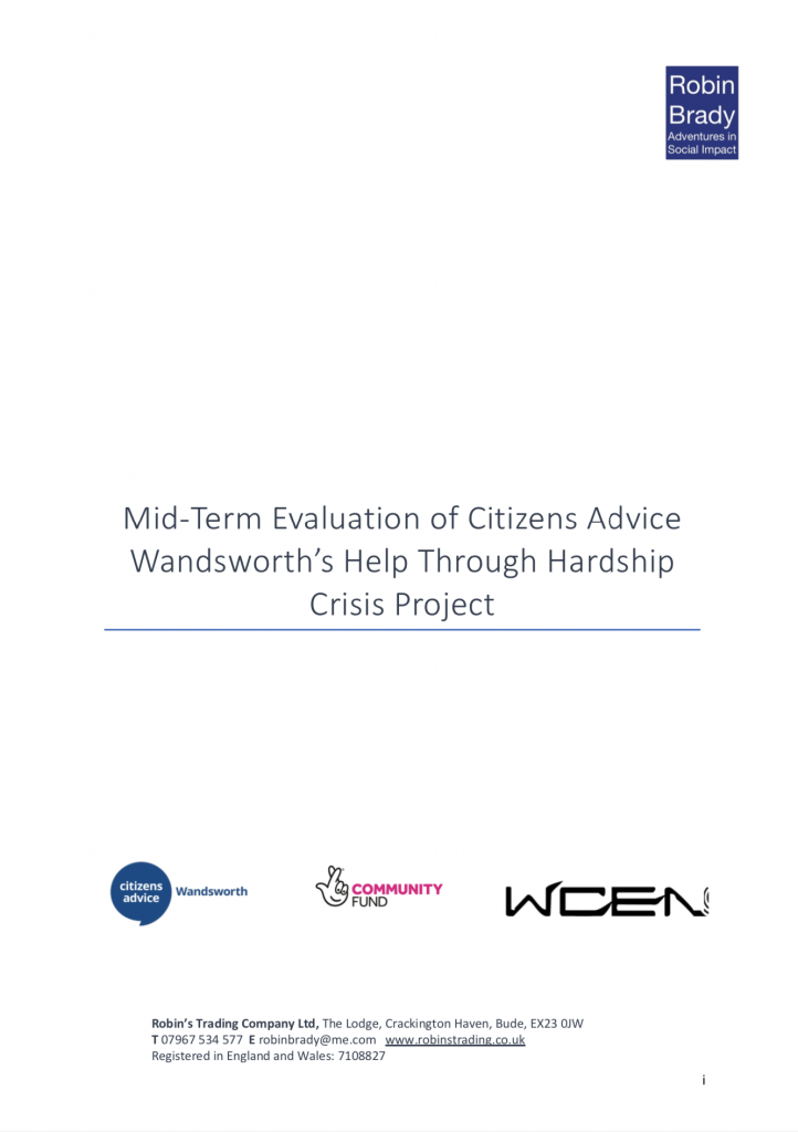 Help Through Hardship Crisis Full Report