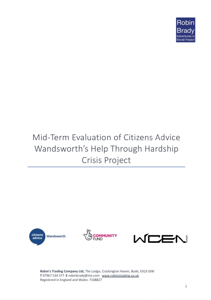 Help Through Hardship Crisis Full Report