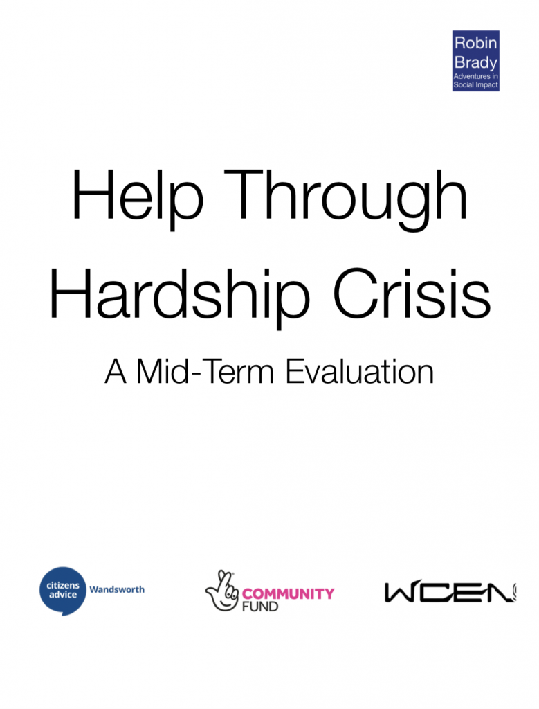 Help Through Hardship Crisis Executive Summary