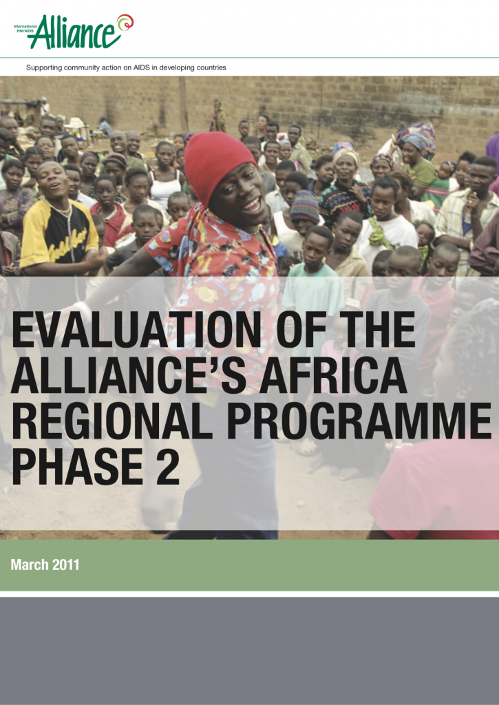 Evaluation of the Alliance's Africa Regional Programme 2